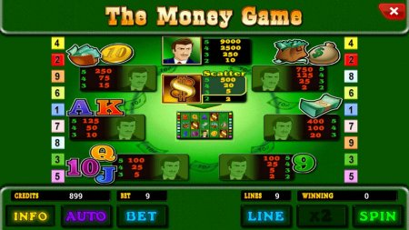 The Money Game: играть в слоты онлайн